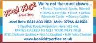 parties catered to meet every need - discos, karaoke, bouncy castles,etc