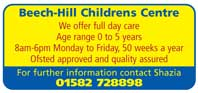 Day care for children aged 0 to 5 years - Ofsted approved