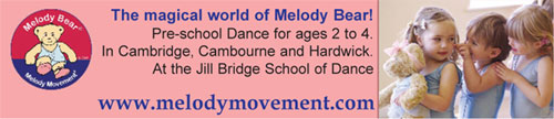 Melody movement pre-school dance classes