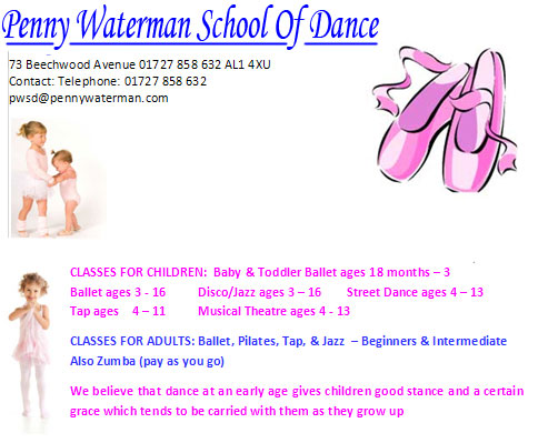 dance classes in hertfordshire